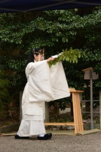新嘗祭、箕曲神社(伊勢市小木町)