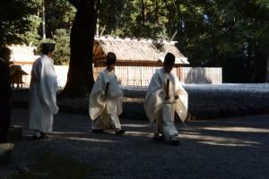 新嘗祭(神服織機殿神社・同社末社八所)