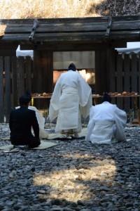 新嘗祭(神麻続機殿神社・同社末社八所)