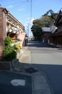 武者隠しの名残と狭田国生神社(皇大神宮摂社)の社叢