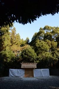 遷御に向けて御造替を終えた神麻続機殿神社、同社末社八所(皇大神宮所管社)