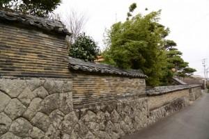 大慈寺の石垣塀
