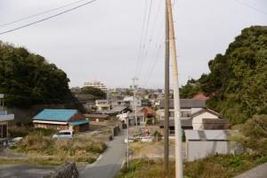 須場の浜の東屋付近からの風景
