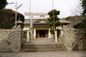 波切神社(大王町波切)