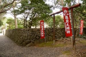 (5)稲荷大明神の参道鳥居