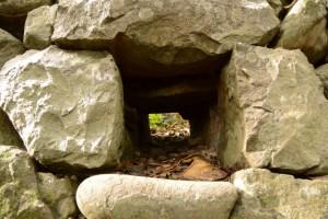 波切神社の石垣
