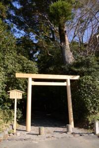 二日前に遷御を終えた神麻続機殿神社(皇大神宮所管社)