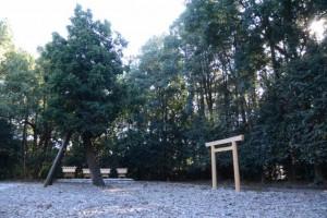 二日前に遷御を終えた神麻続機殿神社末社八所