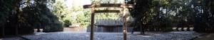 二日前に遷御を終えた神麻続機殿神社、同社末社八所(皇大神宮所管社)