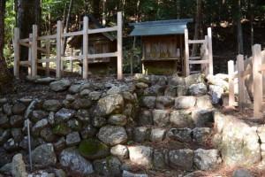 第6回式年遷座を終えた三瀬谷神社(多気郡大台町佐原)