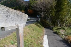 多岐原神社(皇大神宮摂社)への坂道