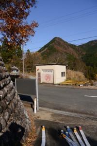 大紀町消防団の倉庫付近(度会郡大紀町三瀬川)