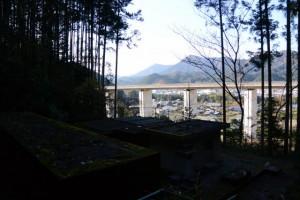 大台町(?)船木簡易水道浄水場付近からの眺望