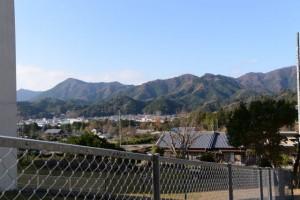船木神社付近からの遠望(度会郡大紀町船木)