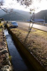 八ヶ野神社付近の風景(度会郡大紀町永会)