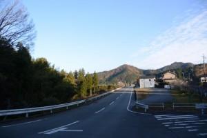 七保のお葉つきイチョウの案内板付近からの風景