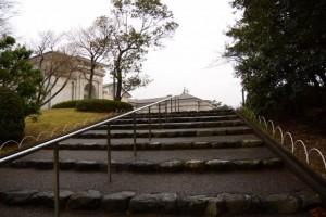 神宮徴古館への階段