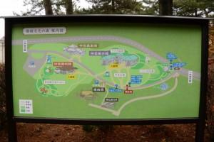「倭姫文化の森」の案内図