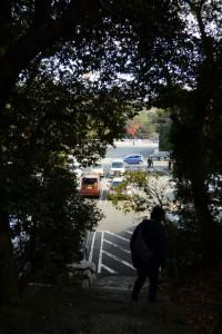 大水神社(皇大神宮摂社)から宇治橋へ