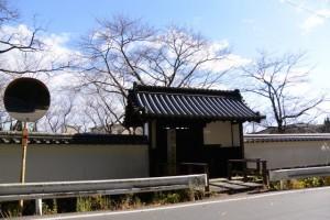 旧豊宮崎文庫 表門付近