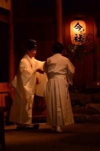 清川稲荷大明神、天満宮の遷座祭(今社)