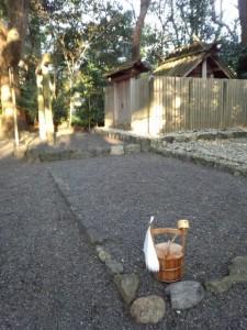 月次祭 奉幣の儀、草奈伎神社(豊受大神宮摂社)