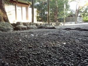 月次祭 奉幣の儀を終えて、草奈伎神社(豊受大神宮摂社)