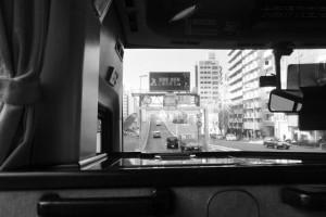 大阪国際空港(伊丹空港)へ(阪神高速道路)
