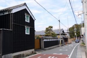 神戸神社付近