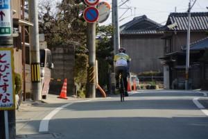 サイクリスト(伊勢街道)