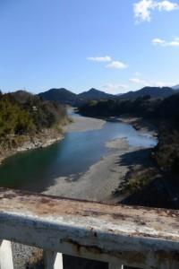 七保大橋から望む打見の渡し場跡(宮川)