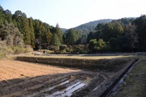 伊勢自動車道 勢和多気-39 139.0KP付近から山田新池方向の遠望