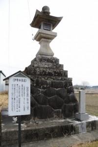 四疋田の大常夜灯:伊勢本街道 (4)相可-B 36