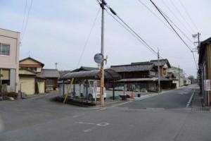 四疋田の大常夜灯付近:伊勢本街道 (4)相可-B 36