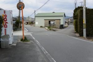 多気町町民バス 四疋田東 バスのりば付近