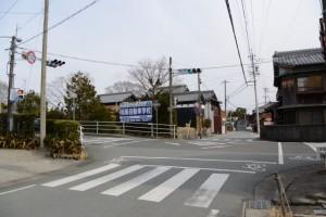 相可交差点、両郡橋(櫛田川)付近