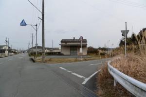 JR紀勢本線 黒田山踏切付近