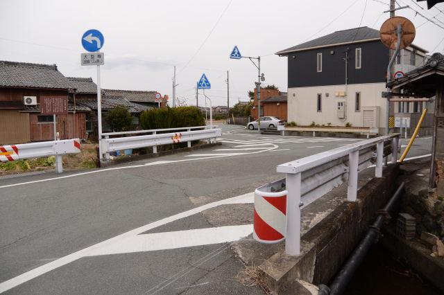 田丸磁石橋跡、伊勢本街道(参宮街道)