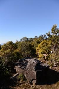 野見坂西峰付近