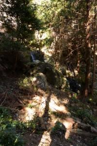 小ノ滝(昇龍の滝の下流側)