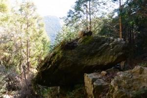 幸ノ石(昇龍の滝の下流側)