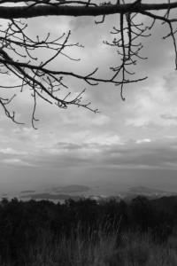 朝熊山(朝熊ケ岳)山頂からの眺望、神島・・・