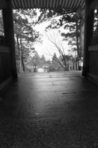 仁王門(金剛證寺)