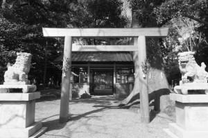遅ればせながらの初詣は箕曲神社(伊勢市小木町)