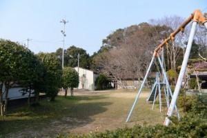 上長屋神社横の小公園(伊勢市御薗町長屋)