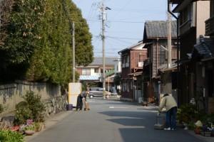 清野井庭神社(豊受大神宮 摂社)の清掃奉仕