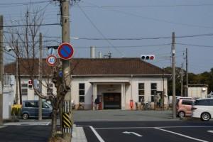 JR参宮線 山田上口駅の遠望