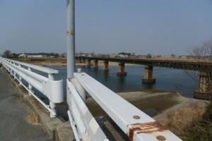 宮川橋(宮川)から望む宮川下流側