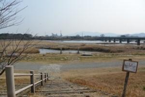 桜の渡し場跡(宮川左岸)
