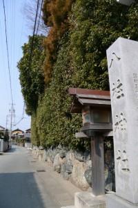 八柱神社の隣は小俣神社(豊受大神宮 摂社)